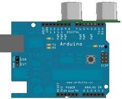 HC-SR04 Cheap Ultrasonic Sensor - Thumbnail