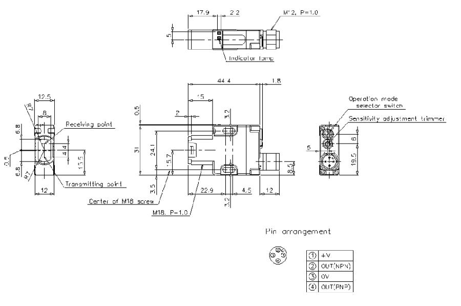 Keyence MultiBeam PZ-G41CB (Mother of All Sensors)