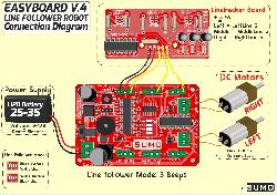 LineTracker Line Sensor Board (Unassembled) - Thumbnail