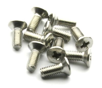 - M3x8 Stainless Steel Countersunk Machine Screw (10 Pcs Pack)