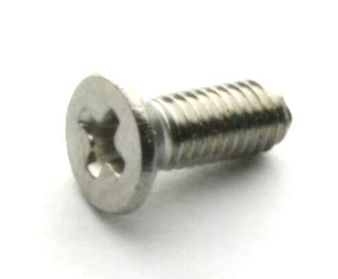 M3x8 Stainless Steel Countersunk Machine Screw (10 Pcs Pack)