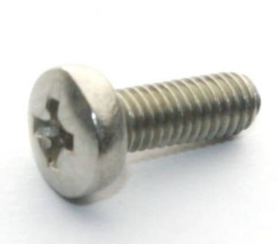 - M3x8 Stainless Steel Panhead Machine Screw (10 Pcs Pack)