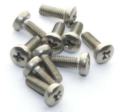 - M3x8 Stainless Steel Panhead Machine Screw (10 Pcs Pack) (1)