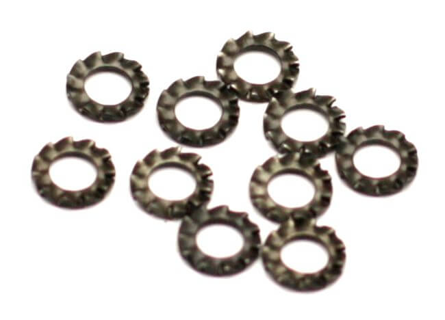 M4 Lock Washer Carbon Steel (10 Pcs.)
