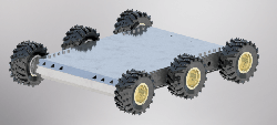 Mobile Explorer Robot 6WD - Thumbnail
