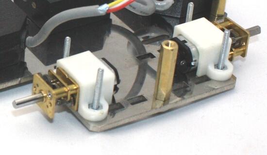 MP12 Micro Gear Motor 6V 1500RPM LP