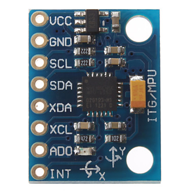 - MPU6050 GY521 Cheap 6DOF IMU (Accelerometer & Gyro) (1)