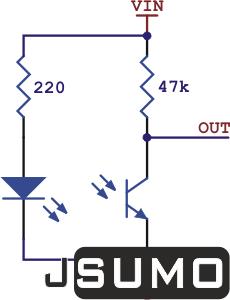 Pololu - QTR1A Contrast (Edge) Sensor (1)