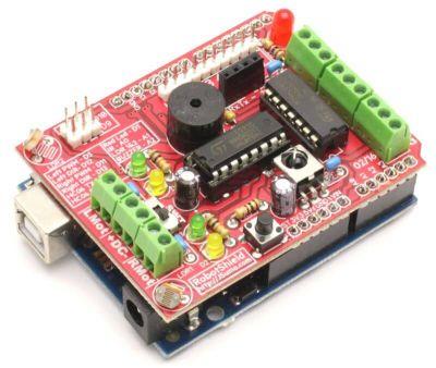 Jsumo - RoboShield Arduino Robot Shield (Assembled)