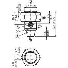 Sick GRTE18S-P1342 400mm Diffuse Type Sensor - Thumbnail