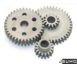 Steel Gear Bundle (0,8 Module - 6,42:1 Reduction) - Thumbnail