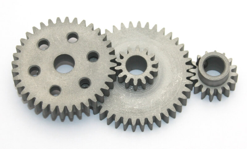 Steel Gear Bundle (0,8 Module - 6,42:1 Reduction)