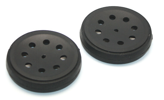 Thin Robot Wheel 47mm x 10mm (Pair)
