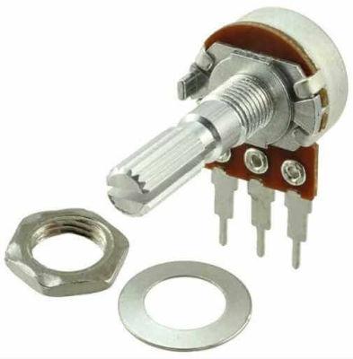 - 1Mohm Linear Potentiometer 0.25W