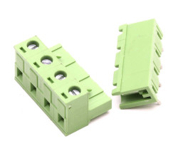 4 Way Pluggable Terminal Block (5.08mm Pin Spacing) - Thumbnail