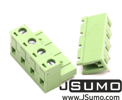 - 4 Way Pluggable Terminal Block (5.08mm Pin Spacing)