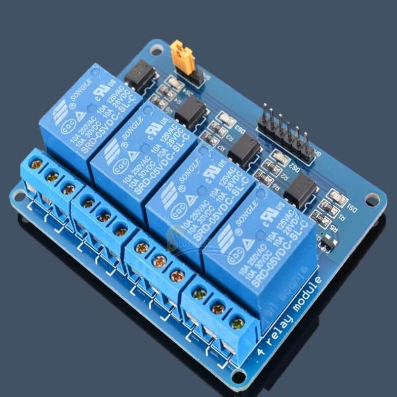 12V 4 Channel Relay Board