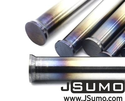Jsumo - Processed Steel Shaft Ø2.5mm Diameter 81mm Length (1)
