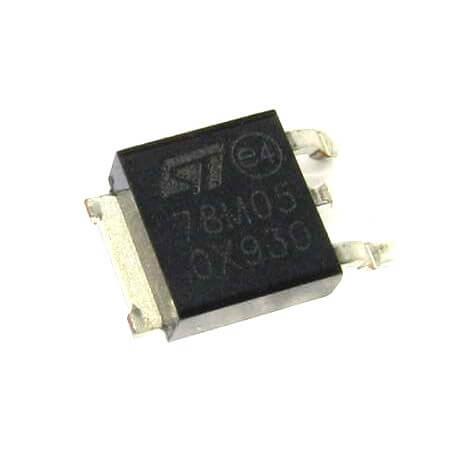 78M05 Linear Voltage Regulator 5V 500MA (10 Pcs Pack)