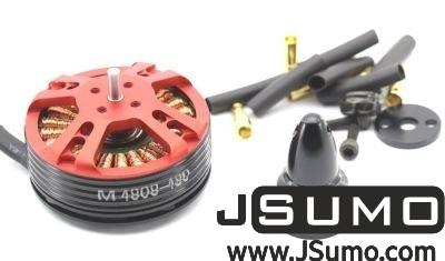 - XNOVA 480KV 3S-5S Outrunner Brushless Motor
