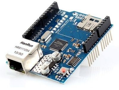 - Arduino Ethernet Shield (1)