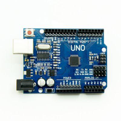 Arduino - Arduino UNO R3 Clone + USB Cable - (CH340 USB Driver, SMD Model) (1)
