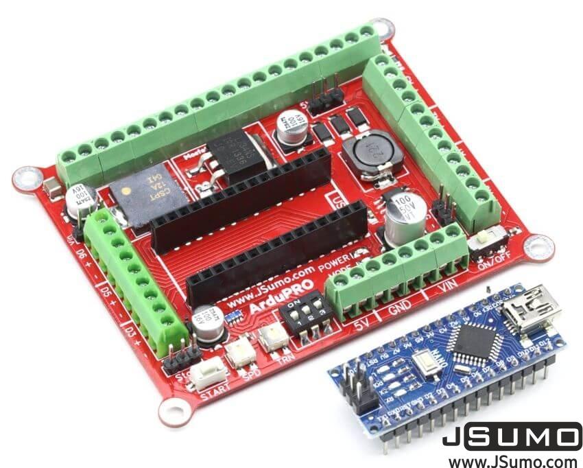 ArduPRO Robot Controller (With Arduino Nano)