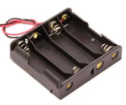 Battery Holder 4 x AA - Thumbnail