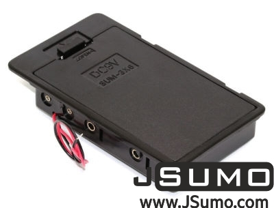 Jsumo - Battery Holder 6 x AA with Cover (Panel Mount)