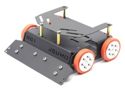 BB1 Midi Sumo Robot Kit (15x15 - 1.5Kg) (No Electronics) - Thumbnail