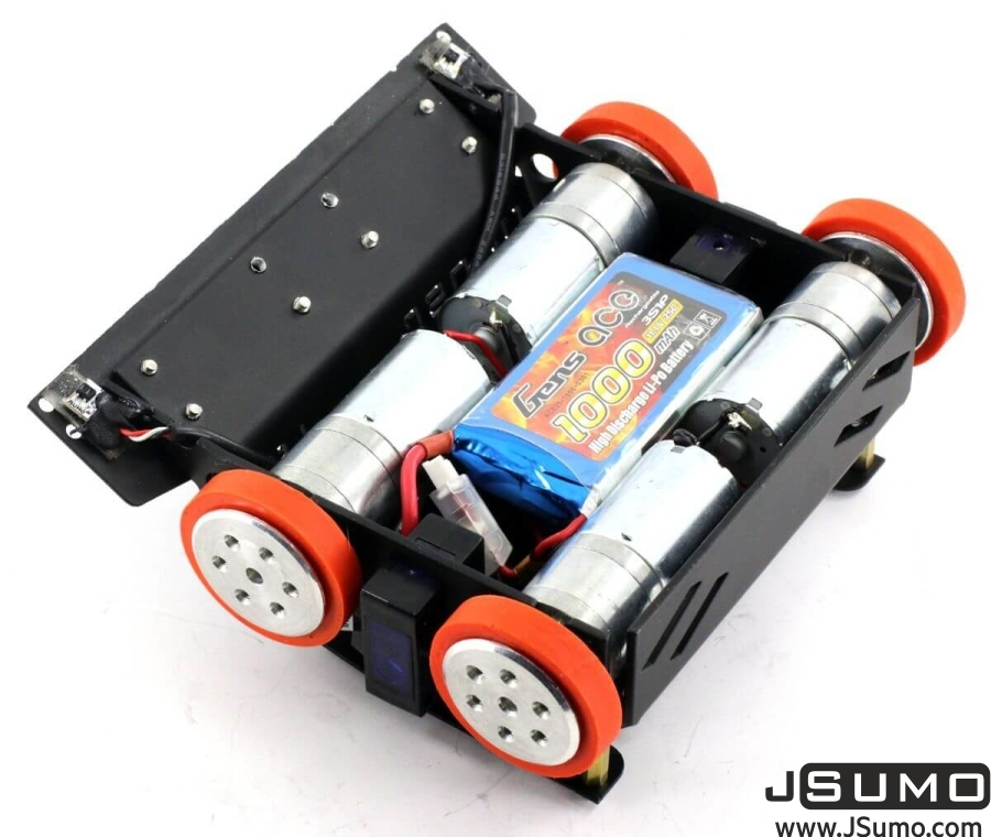 BB1 Midi Sumo Robot Kit (15x15cm - Assembled)