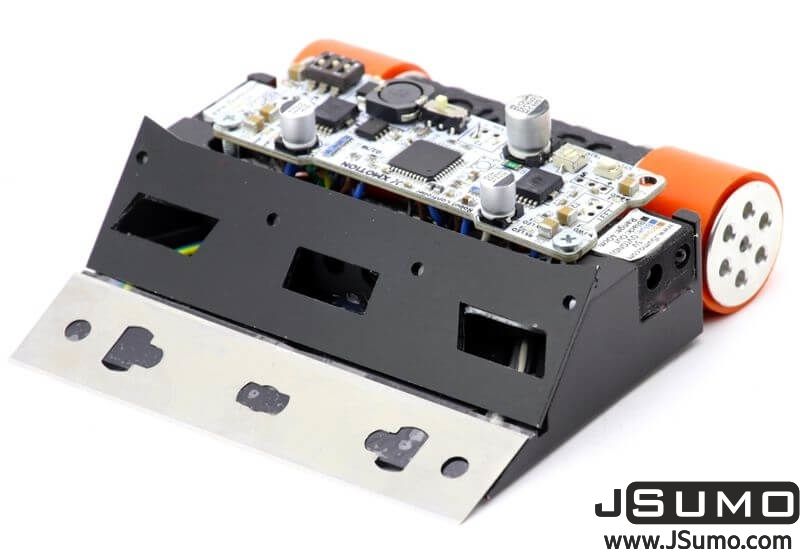 Black Magic Mini Sumo Robot Kit (Full Kit - Not Assembled)