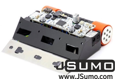 Jsumo - Black Magic Mini Sumo Robot Kit (Full Kit - Not Assembled)