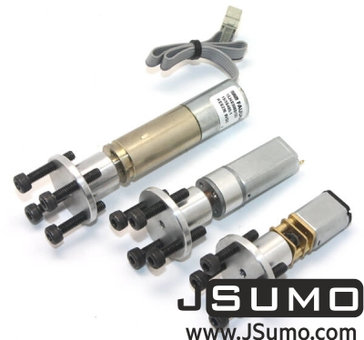 Jsumo - CNC Machined Mounting Hubs (3mm Hole - Pair) (1)