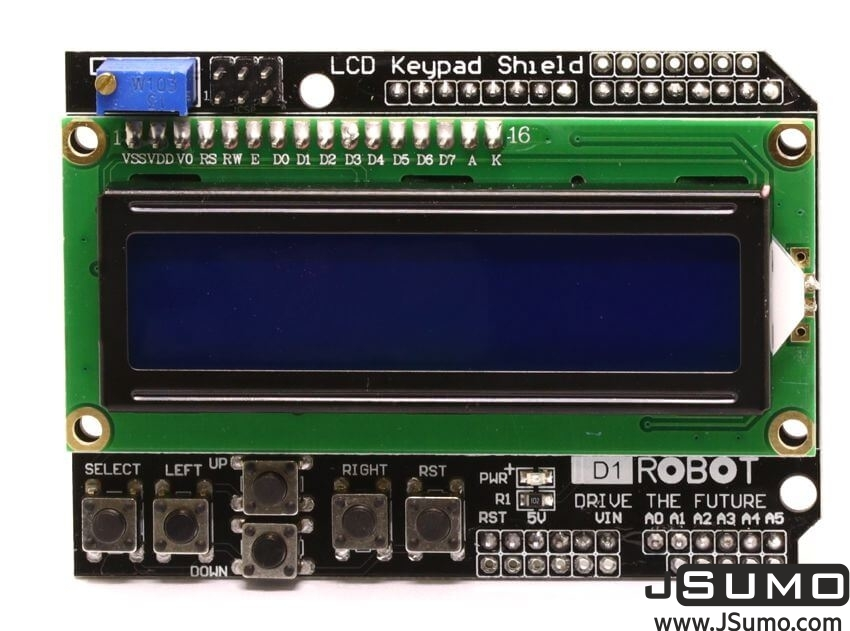 DFRobot LCD Keypad Shield