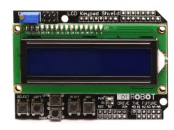 DFRobot LCD Keypad Shield - Thumbnail