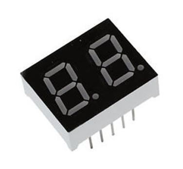 - Display - 7 Segment 2 Digit 14mm Common Cathode