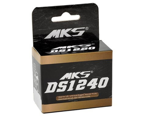 DS1240 Titanium Gear High Speed Digital Servo