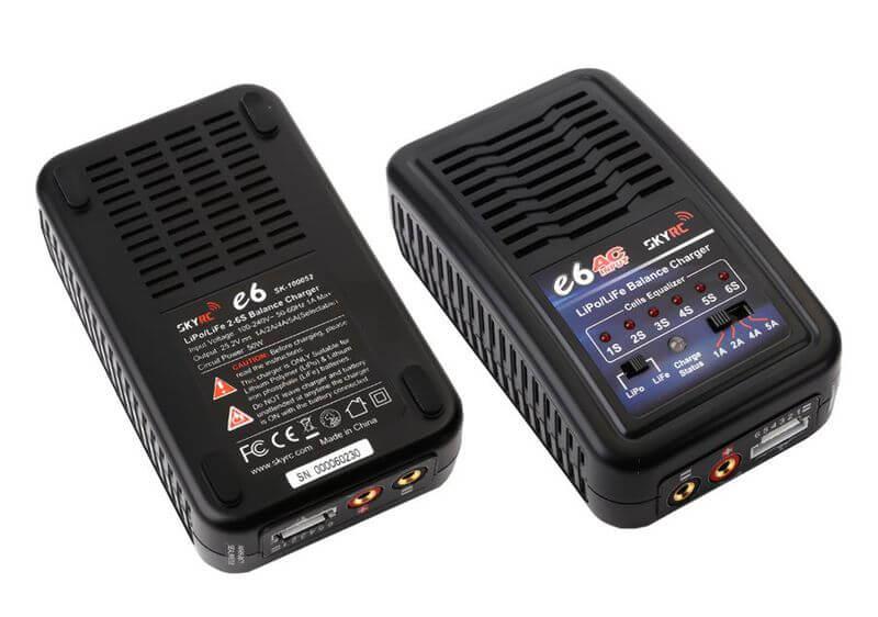 E6 5Amp 50Watts LiPo/LiFe 2-6S Charger AC Input