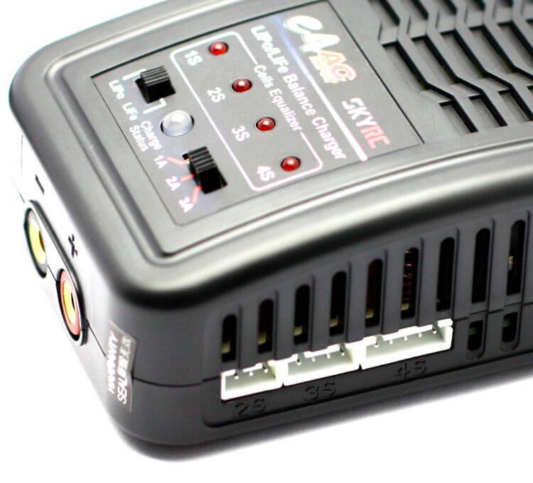 E4 AC Input 3Amp 20Watts LiPo (2S-4S) Charger