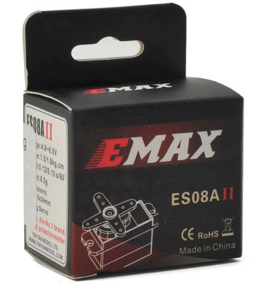 Emax - ES08A II Micro Servo Motor (1)
