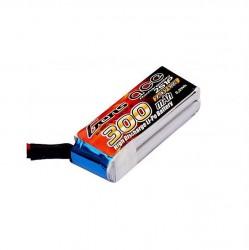 GENSACE 7,4V 2S 300Mah 30C Micro Lipo Battery (For Mini Sumo Robots) - Thumbnail