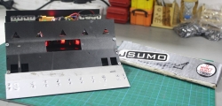 GZERO Sumo Robot Mechanical Kit (No Electronics) - Thumbnail