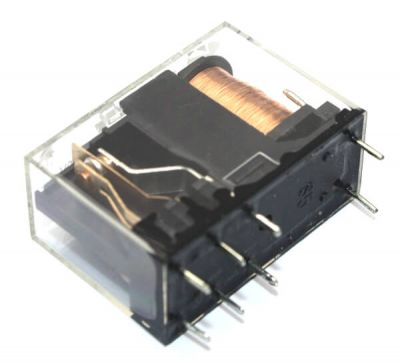 Helishun - HELISHUN DPDT Relay 12V - 5A Drive @30V (1)