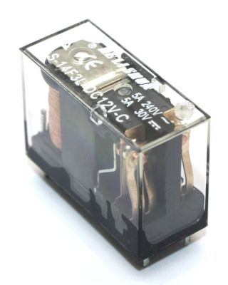 Helishun - HELISHUN DPDT Relay 12V - 5A Drive @30V