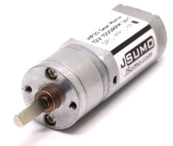 HP20 12V 1500 Rpm 12:1 High Power DC Motor - Thumbnail