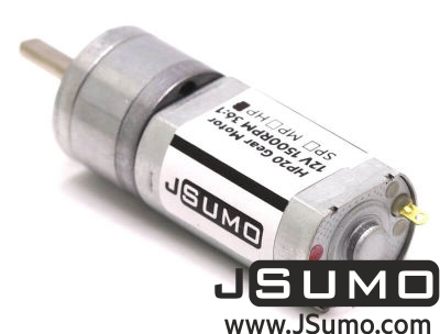 Jsumo - HP20 12V 1500 Rpm 12:1 High Power DC Motor (1)