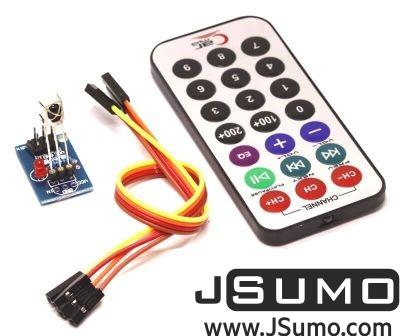 Jsumo - Infrared Remote & Receiver Module