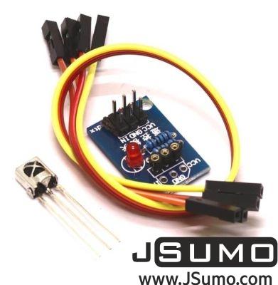 Jsumo - Infrared Remote & Receiver Module (1)