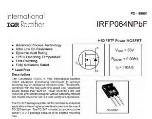 IRFP260N High Power Mosfet 200V 50A